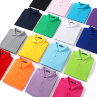 Wholesale Custom embroidered Printing Logo Cotton Polyester High Quality men Polo shirts Manufacturer of men's shirts