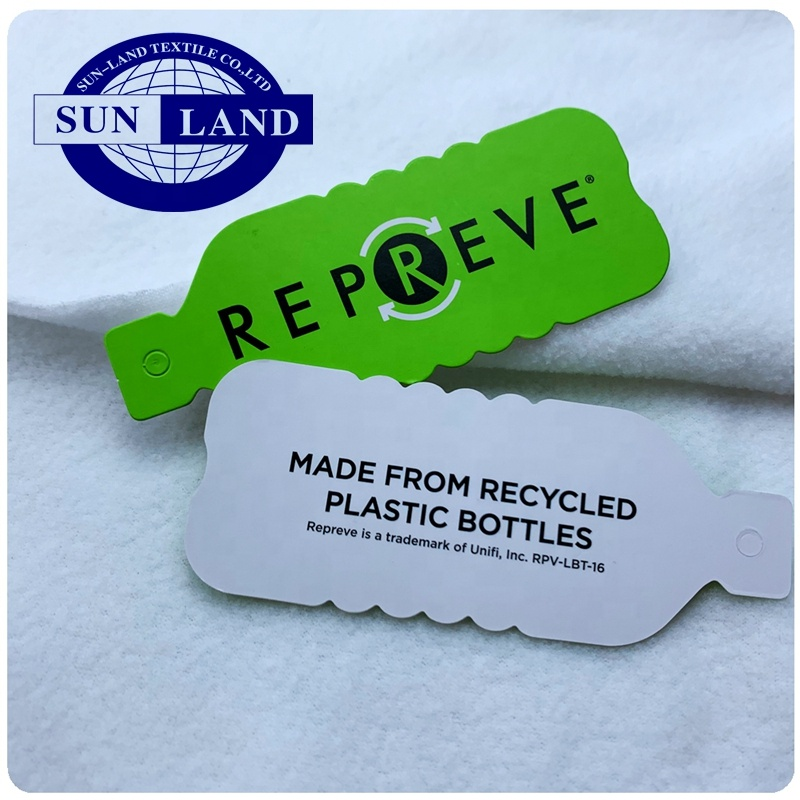 ECO-Friendly recycled repreve micro polar fleece fabric for casual sportswear