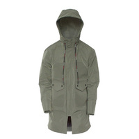 Lightweight Parka Men With Adjustable Hood