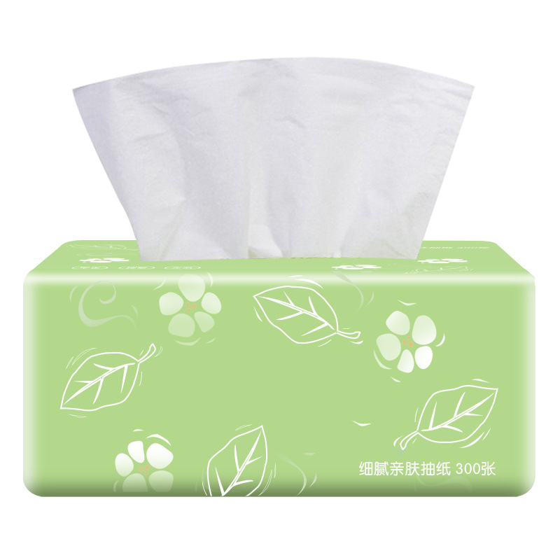 Strong Soft Face Cleansing Original Wood Pulp Draw Out Facial Wipe Dinner Tissue