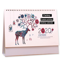2020 christmas desktop calendar custom printing photo digital advent calendar