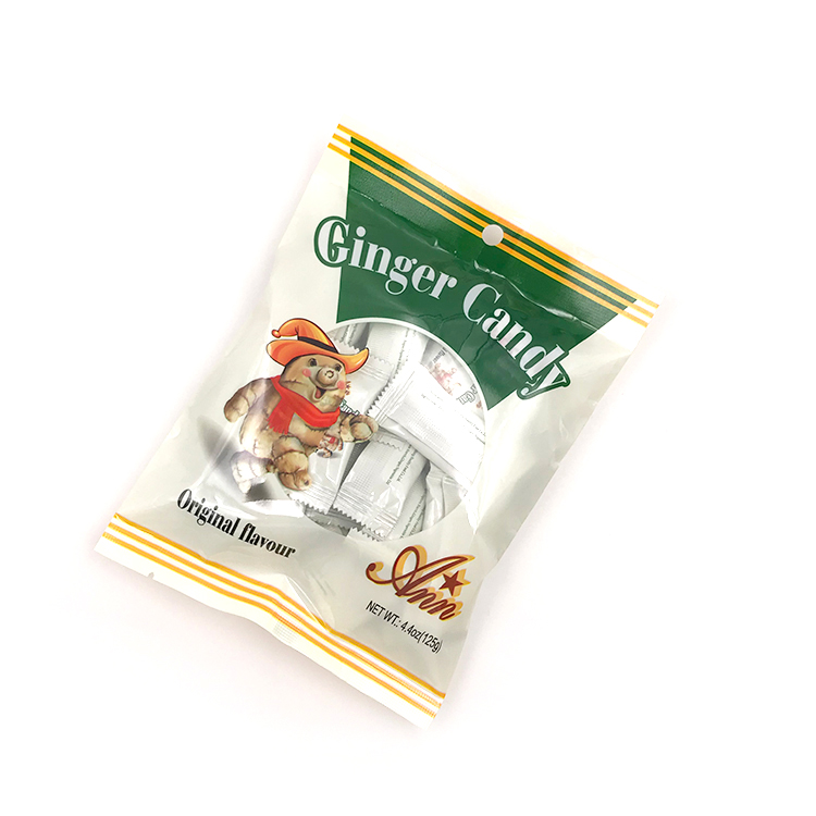 2020 HOT sale Gummy candy Ginger Candy Tastes ginger exporter sugar