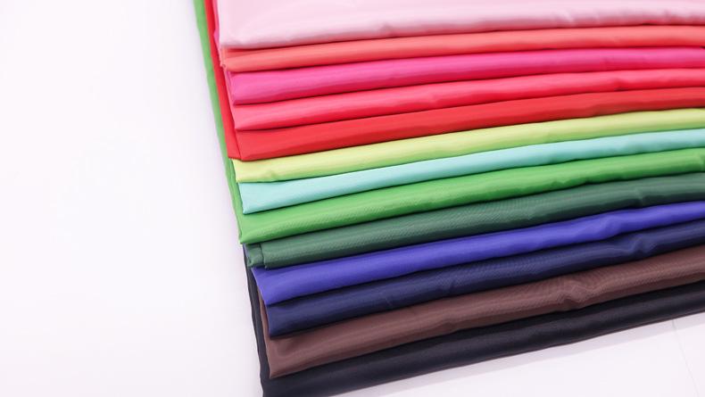 Wholesale 100% polyester 190T taffeta lining fabric