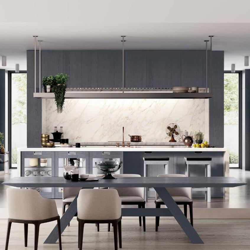 Venta al por mayor diseño cocinas americanas estilo-Compre ...