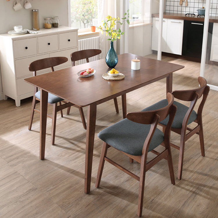 Modern <strong>Square</strong> Pure Solid Wood <strong>Dining</strong> <strong>Table</strong> CEDT001 for <strong>Dining</strong> Room