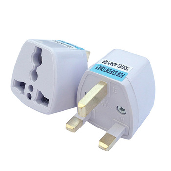 QWT Euro Germany France Au Schuko Electrical Plug To UK Mains Power Converter travel adapter