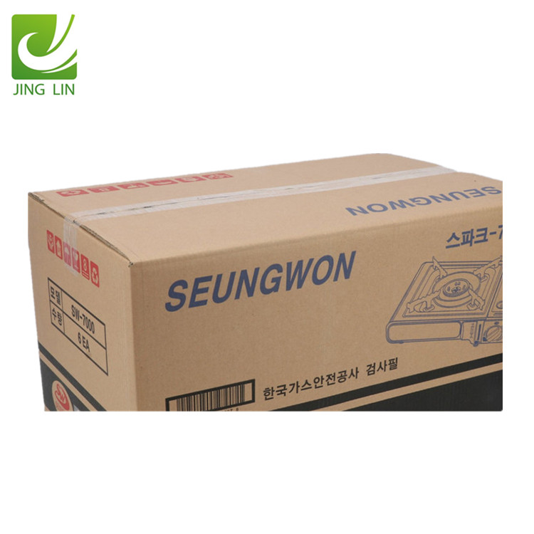 Customized 3/5 layer kraft corrugated cardboard carton shipping hard packaging boxes for moving packing