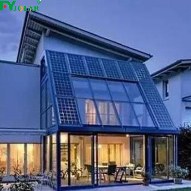 A grade custom size factory direct price BIPV translucent solar panel