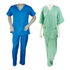 white solid color designs unisex disposable hospital doctors uniform medical scrub suit for men woven