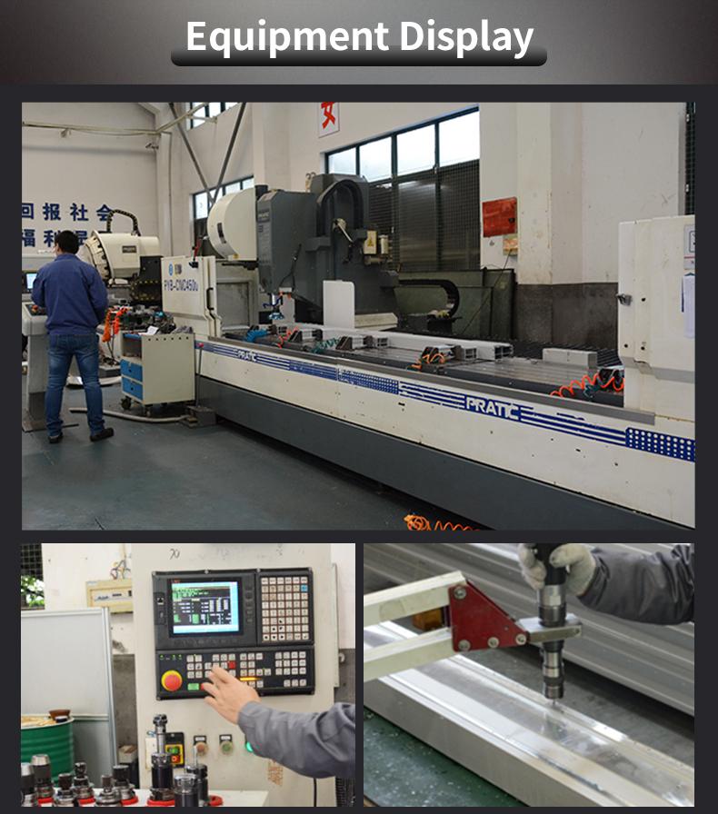 40X40 อุตสาหกรรมอลูมิเนียมกรอบวัสดุวงเล็บผู้ผลิต T TRACK V SLOT Extrusion อลูมิเนียมโปรไฟล์