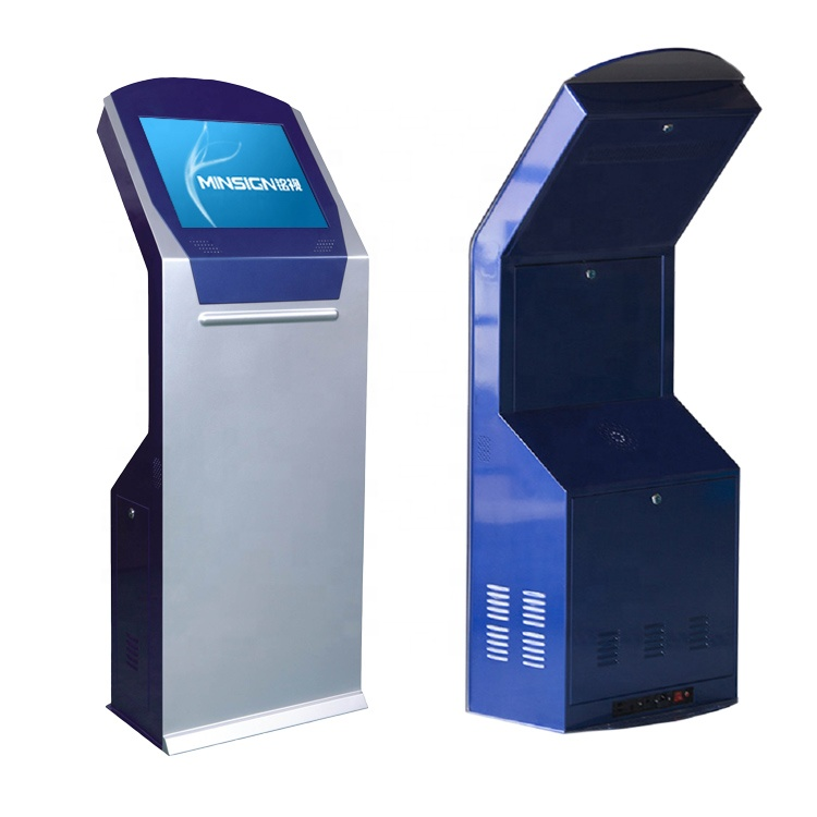 Payment Touch Screen Kiosk Ticket Dispenser Queue Management HD Multifunction Self Service All In One Machine