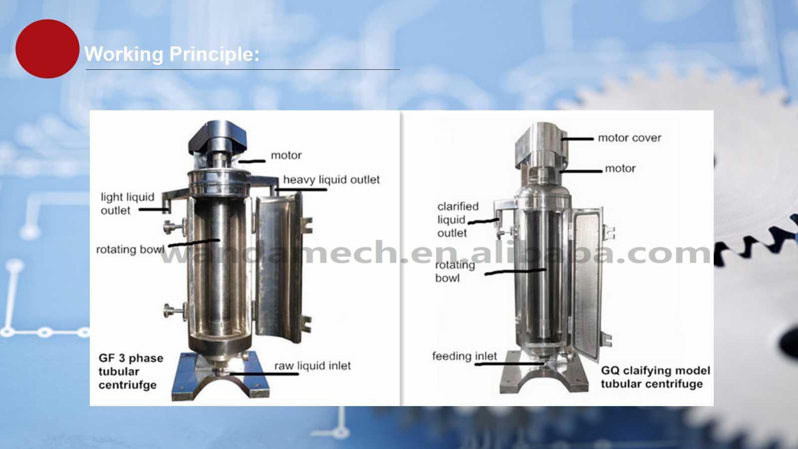 Top sell industrial tubular type blood plasma separator