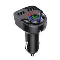 GXYKIT G32 Car MP3 player 5.0 Bluetooth Version Bluetooth Car FM Transmitter With Blue Breath Lighting Two USB Ports
