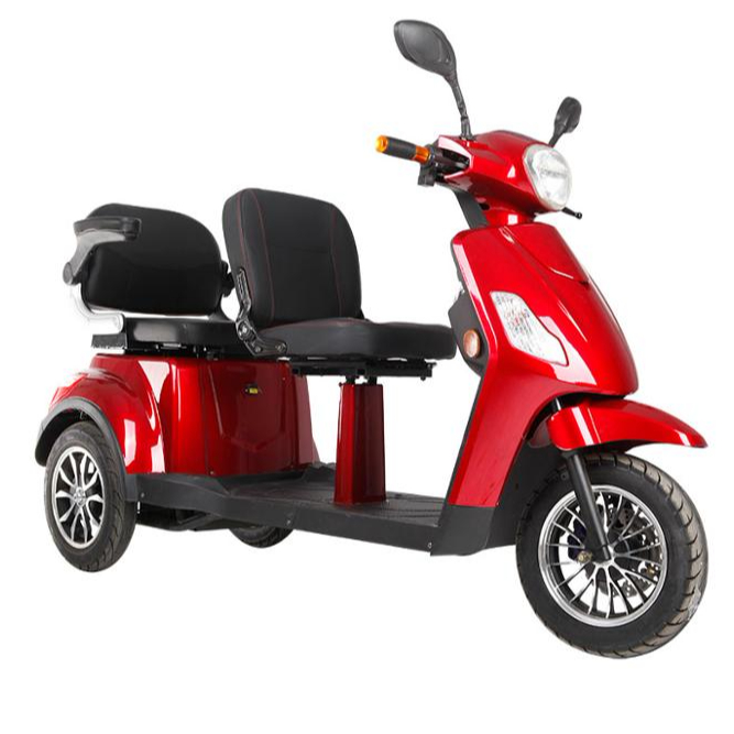 double seat electric scooter two people mobility scooters motorized tricycles