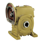 WPA series single worm gear box 3/8 to 1/4 reducer transmission for gearbox 1:50 ratio speed reducer a234 wpb reducer gear box