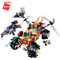Qman Conquering The Demon plastic material 462 Pieces brick construct toy