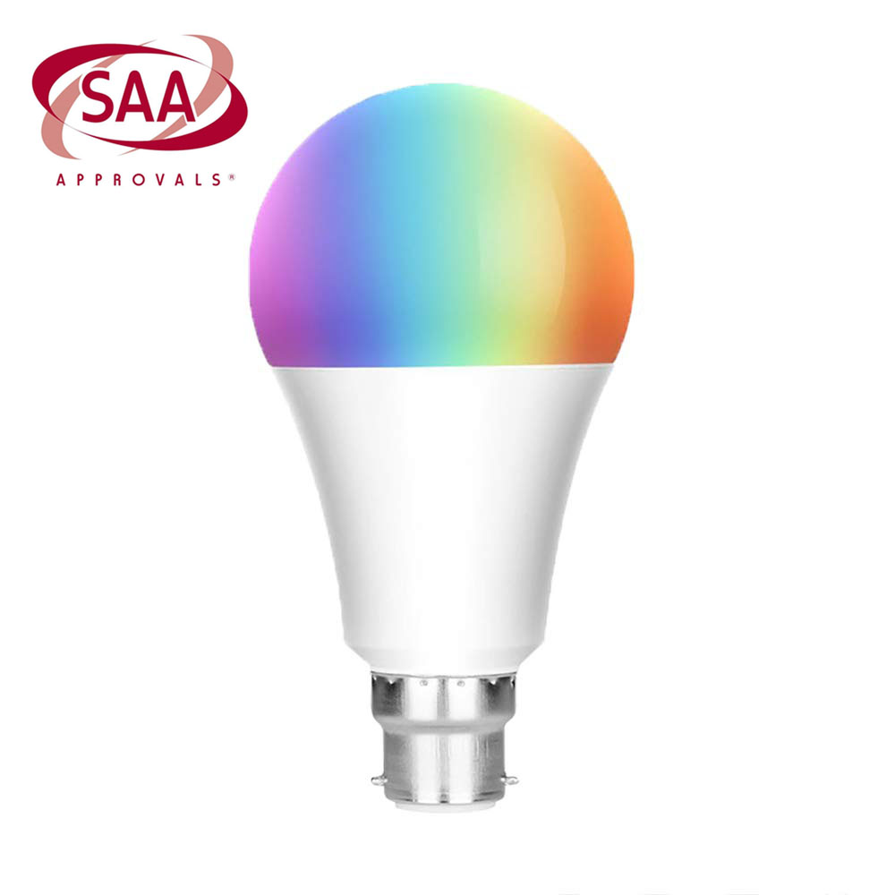 Free Sample High luminous <strong>led</strong> <strong>bulb</strong> e27 <strong>Smart</strong> <strong>Bulb</strong> 7W 9W RGBW Works with Amazon Alexa and Google Assistant Dimmable <strong>LED</strong> Light