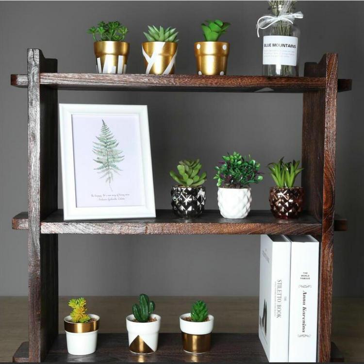 गृह सजावट थोक छोटे आकार के साथ सस्ते कृत्रिम संयंत्र धातु फूल बर्तन