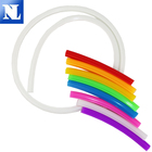 Silicone flexible lamp with 12v neon bar outdoor advertising sign shape to do word waterproof LED soft light strip