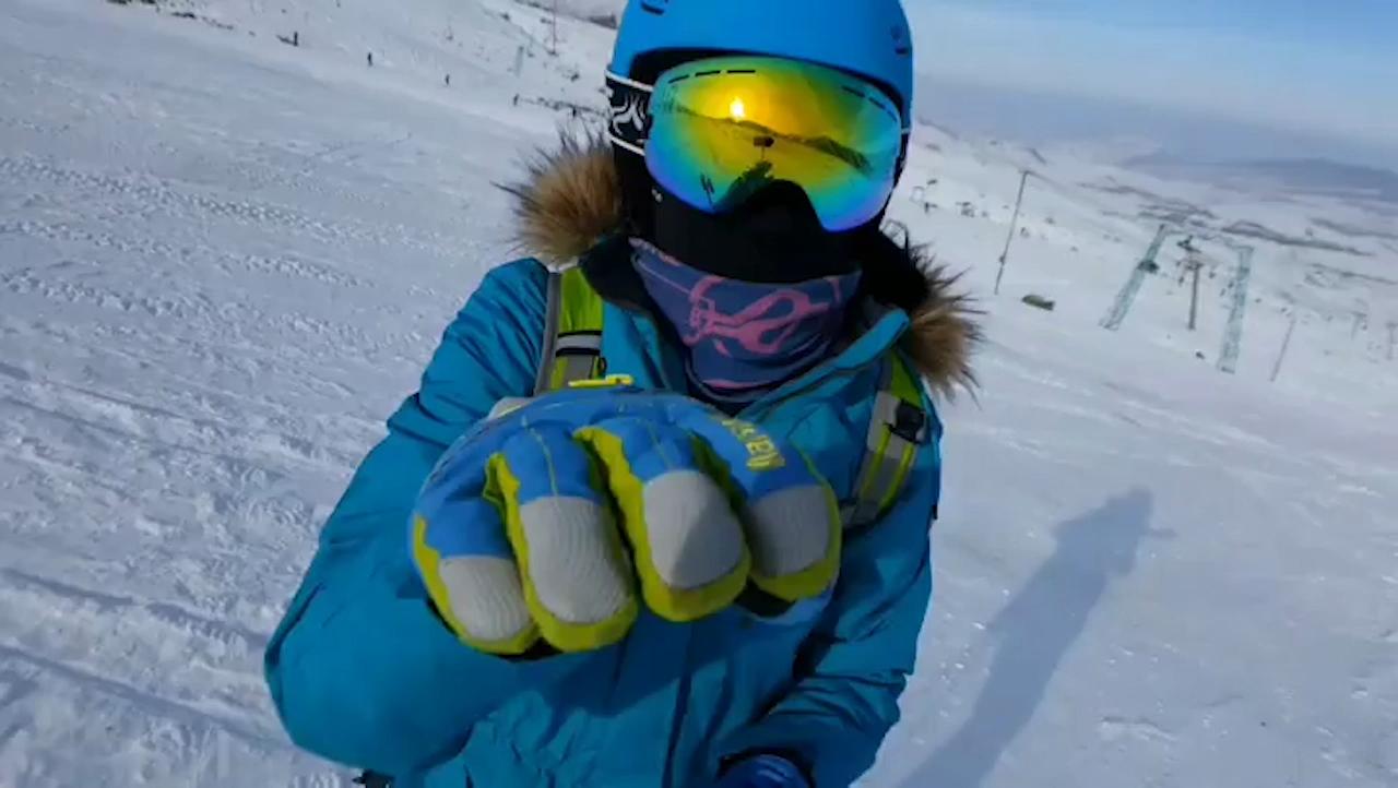 Ski Goggles Shock Proof Spherical UV400 Windproof Men Women Snowboarding Snow Goggles