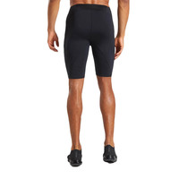 High Quality Mens Training Gym Wear Mesh Short Leggings Quick Dry Breathable Compression Men Athletic Tights