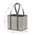 2019 Reusable Grocery Bag Shopping Box Tote Collapsible Bag
