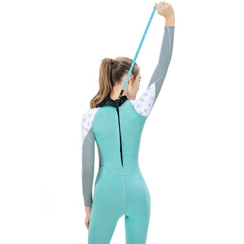 Top Quality Diving Suit Women Long Sleeved Wetsuit for Snorkeling Surfing