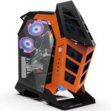 Чехол для компьютера DarkFlash Knight-1 ATX/M-ATX/ITX, «сделай сам», «Средняя башня» с закаленным стеклом, игровой чехол для геймеров из поликарбоната(Китай)