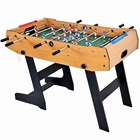 48'' kids folding foosball table telescopic rods soccer game football table