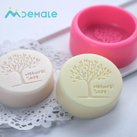 Tree-shaped Eco-friendly silicone soap mold