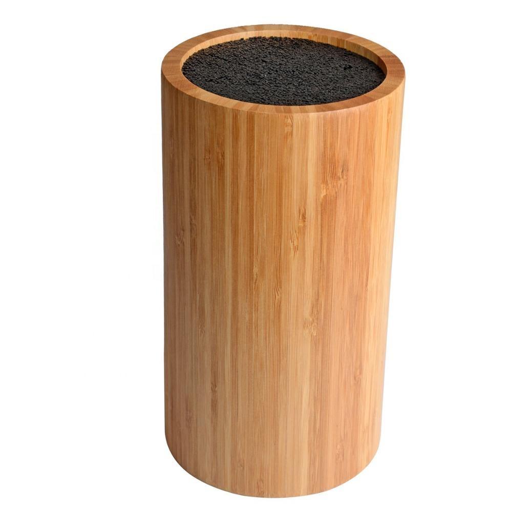 Rotonda Di Bambù Universale di Blocco Della Lama con Setole