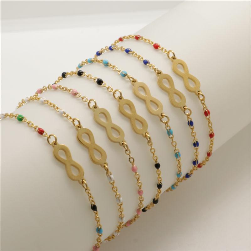 Змеиная цепочка Diy для тенниса 3 мм разделители браслеты Сфера из нержавеющей стали пружинный браслет розовое золото бижутерия