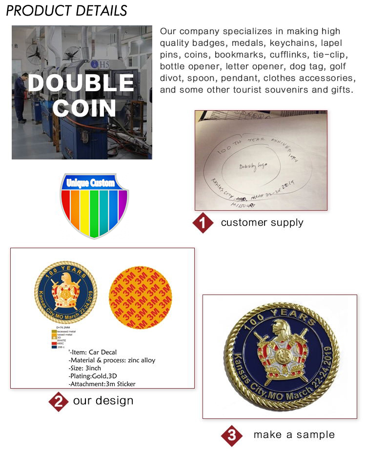 Chinese professional manufacturers to customize personalized Wholesale Metal Souvenir Coin