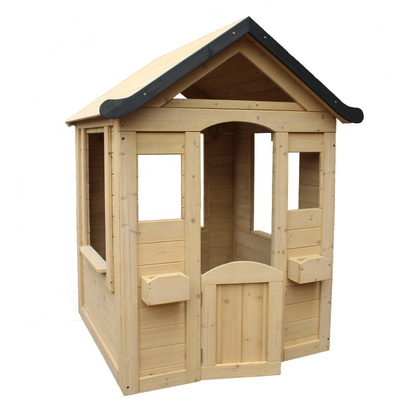 Durable Outdoor Children Play House Wooden Marketing Booth Kids Playhouse