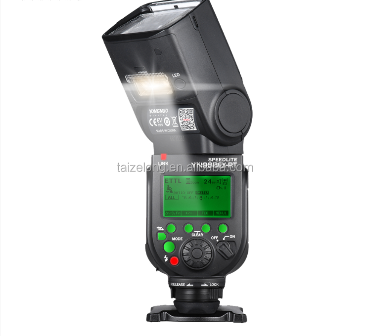 YongNuo YN968EX-RT Flash Speedlite HSS TTL Master Wireless with LED Light 1/8000s for Canon 50d 60d 5d mark III IV 120D 110D 70d