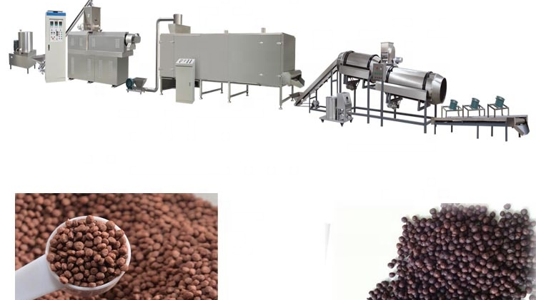 Hot Selling Floating Fish Feed Processing Machine Equipment Line Plant