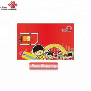 China unicom greater china 30 days 6GB 4g data sim card