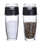 16 Pack Glass Spice Jar with Plastic Cap, Perfect for Storing Spice, BPA free Seasoning Containers