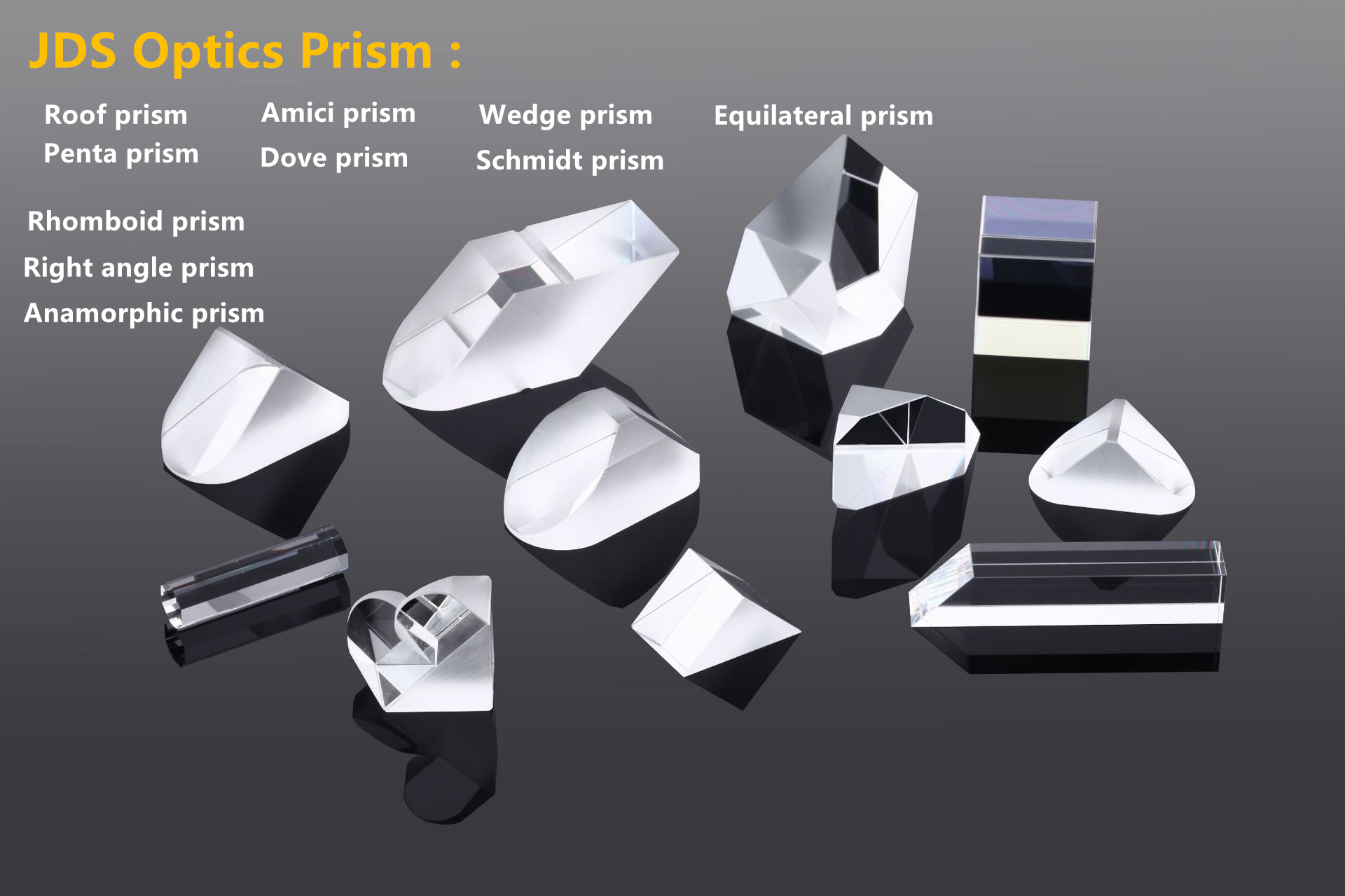 optical glass triangle prism, prism optic