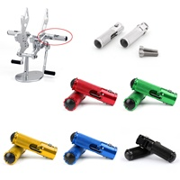 CNC Folding Foot Pegs Footpeg Rear Set Rest Racing For Universal Motorcycle