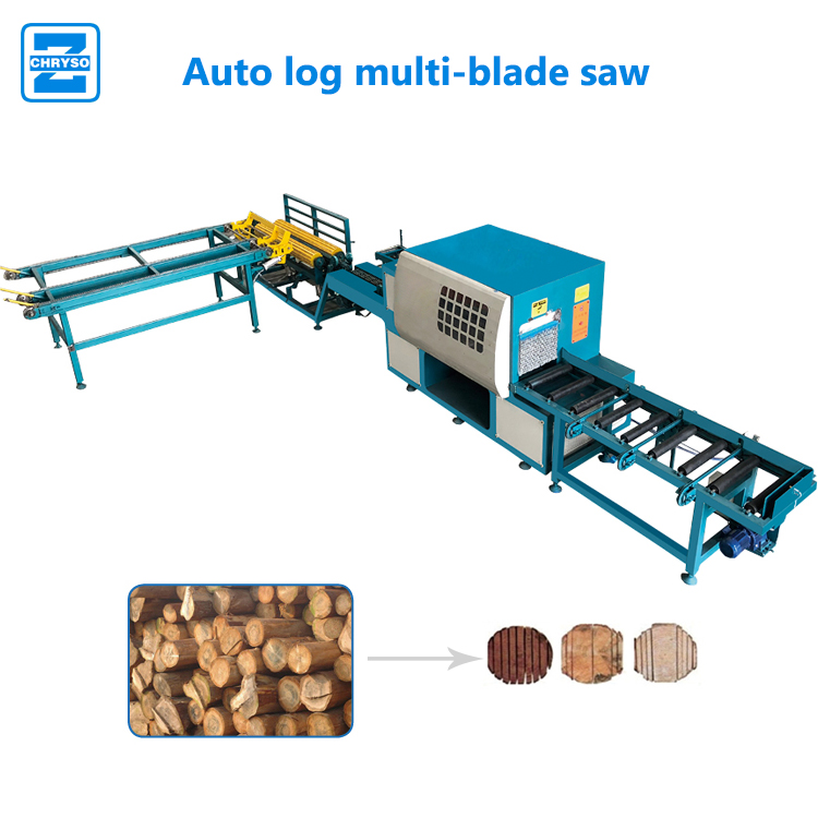 Factory supply Woodworking plank multi blade rip saw machine for plywood
