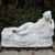 Outdoor hand carved life size female nude marble lady woman statue sculpture