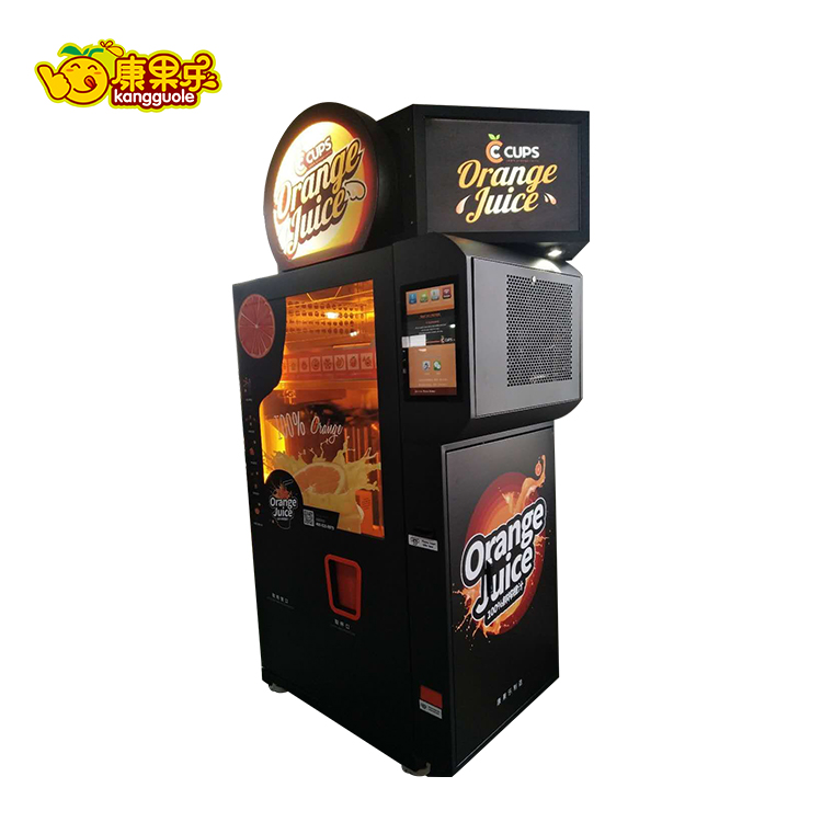 App Pay Automatic Fresh Orange Juice Vending Machine