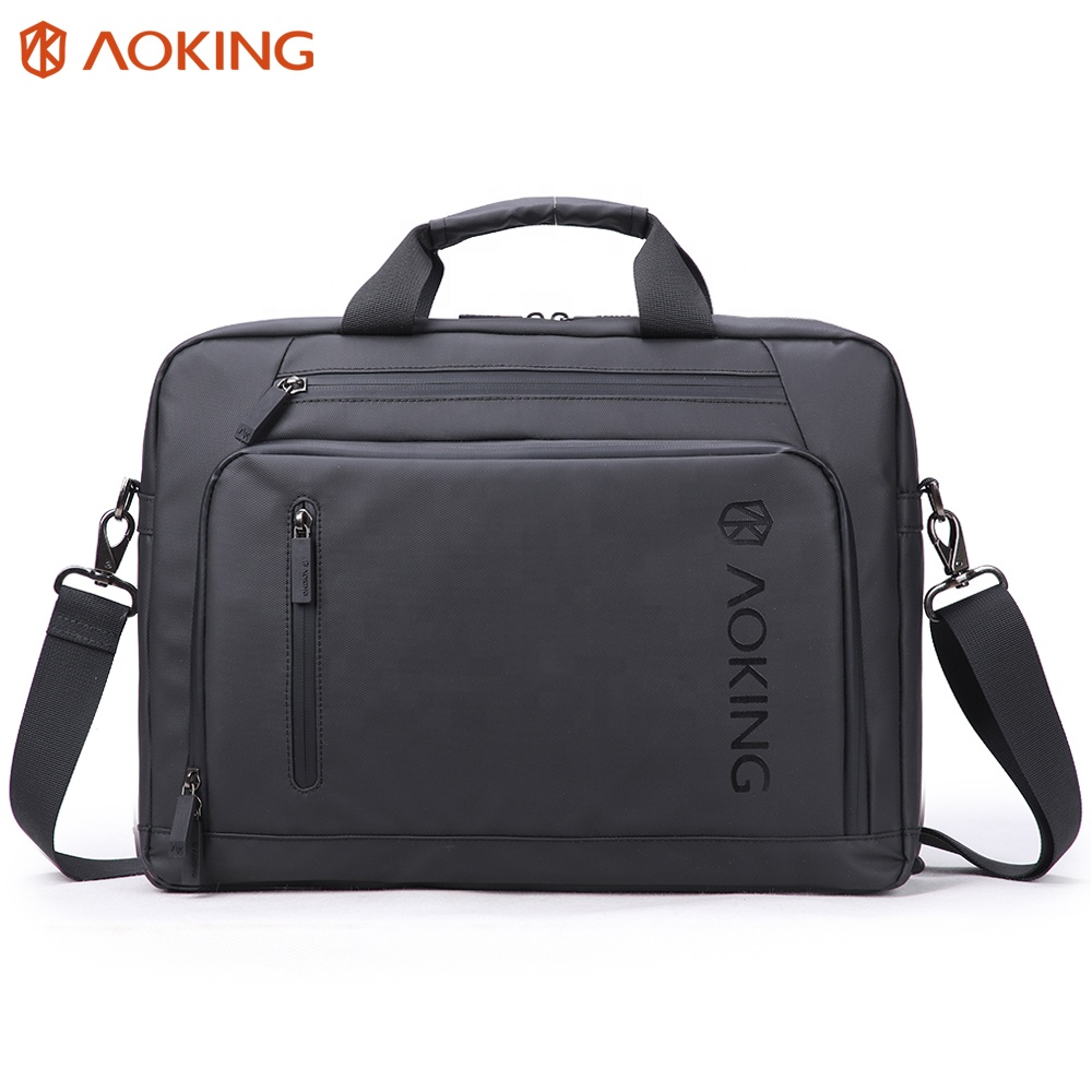 Heavy Duty 19 Inch Laptop Bag Custom Briefcase Messenger Product On