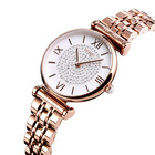 Watch Women New Arrival Skmei 1533 Rose Gold Luxury Watch Women Custom Logo Waterproof Wristwatch For Lady
