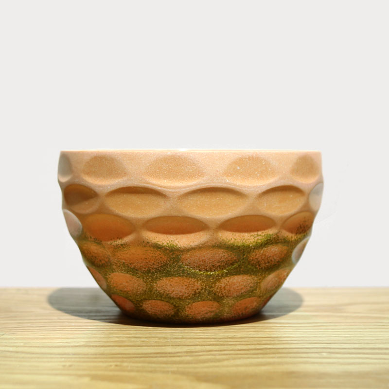 Concave round unique creative home decor flower pot