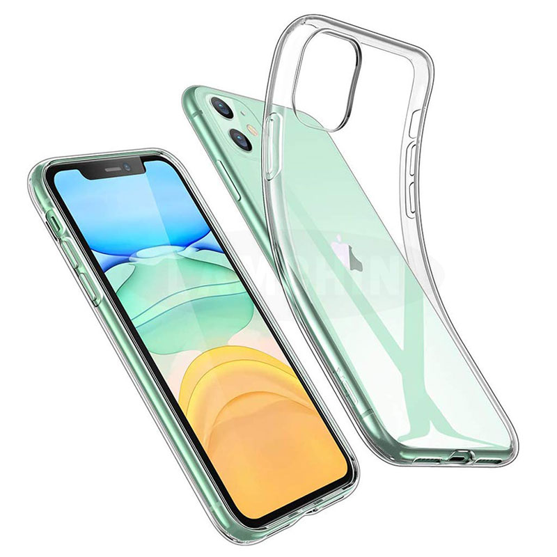 Slim Shockproof Crystal Clear Transparent TPU Acrylic Phone Case for iPhone 11 Pro <strong>Max</strong> X/XS XR 7/8 Plus 5.8/6.1/6.5 Inch Case