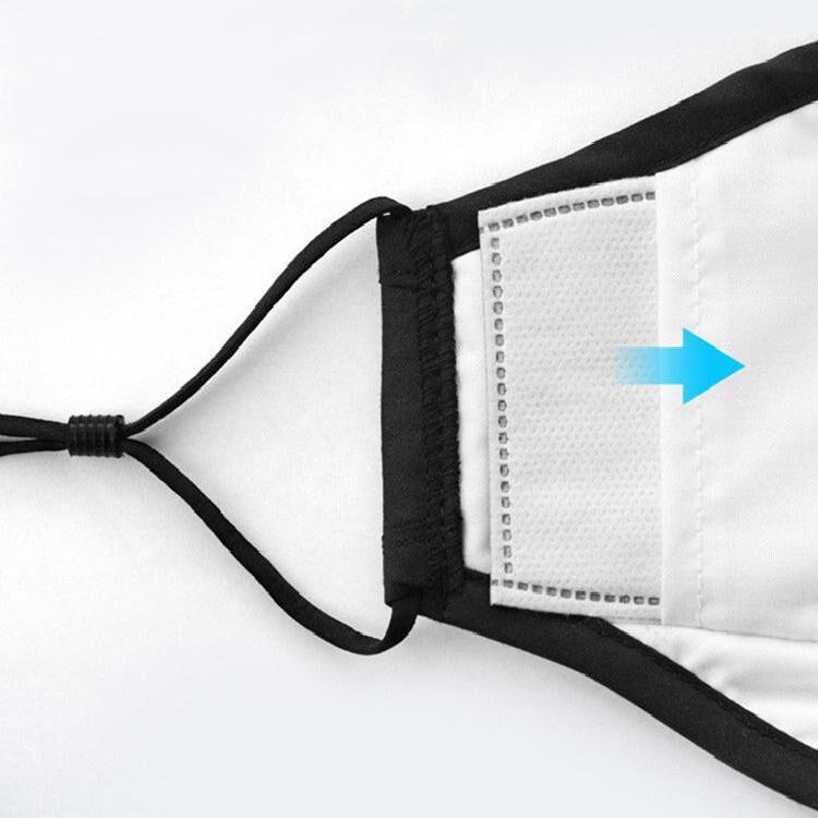 Fashion Maskes PM2.5 Washable Reusable Anti Air Pollution Dustproof With Valve Cotton face Maskes