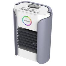 Мини портативный вентилятор для воздушного охлаждения вентилятор для офисного Дома Usb увлажнитель воздуха очиститель Настольный кондицио...(Китай)