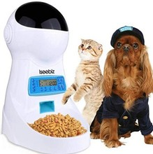 Neue 2,5 L Auto Timed Pet Feeder Stimme Recorder Fabrik Großhandel Timed Pet Feeder Amazon Top Verkäufer 2019 Auto Timed pet Feeder